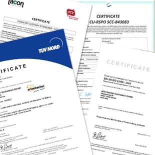 Nuestros certificados